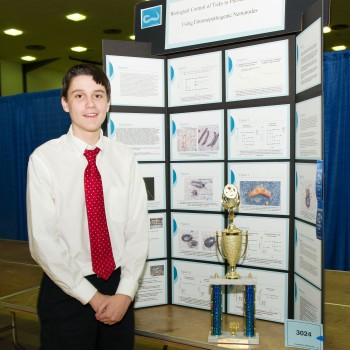 Ryan Kerr at 2011 Connecticut Science & Engineering Fair