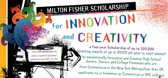Milton Fisher Scholarship for Innovation and Creativity Cropped for Slider